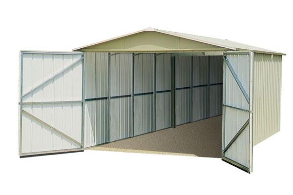 ... YARDMASTER Metal Garage   19.07 M². TRIGANO JARDIN ...